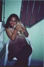 MY CAT LILO & ME IN DOMINICAN REPUBLIC