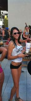 me at the utah undie run