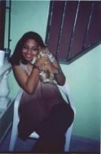 MY CAT LILO & ME IN DOMINICAN REPUBLIC