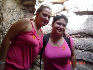 Me and my sister on vacation!!