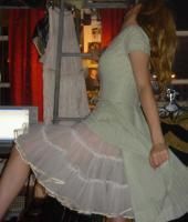 Getting ready for a burlesque cabaret night...frills and fancy!